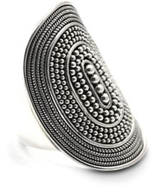 Handmade in Bali by native artisans. Indiri .925 Sterling Silver jewelry is of the finest quality and craftsmanship. Size 8.