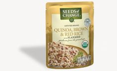 Seeds of Change | Quinoa, Brown & Red Rice with Flaxseed