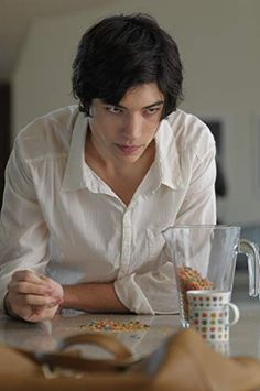 Ezra Miller in We Need To Talk About Kevin. He was so good in this film.creeped me the fuck out Ezra Miller, We Need, Let Them Talk, Good Movies, Actors, Ideal Type, Ideal Man, Fangirl, Eye Candy