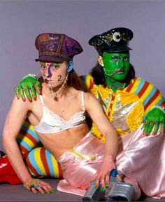 Trojan & Leigh Bowery