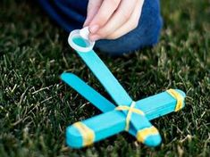 Give the kids something to shoot at that doesn't involve a video screen. Help them make a mini catapult then use marshmallows or pom-poms to shoot at targets. To make it easy, we've provide a numbered target you can just download and print.