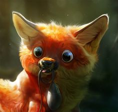 Not quite right by Therese Larsson, via Behance