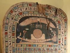 Solar Barge; Connected to the solar cycle; each day Ra is born @ Dawn from Nut; midday marked his maturity & he aged as the day progressed @ nightfall he enters the underworld. This is all on his Sun Barque pictured; he becomes one with Osiris and he is rejuvenated and reborn again at dawn.