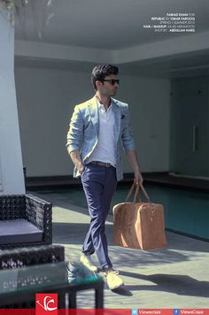 Elegant  is the other name of Fawad Afzal  Khan