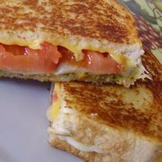 April 12- National Grilled Cheese Day | Pesto Grilled Cheese Sandwich