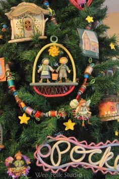 Sally Maevor's tree for Family Trees: A Celebration of Children's Literature at the Concord Museum