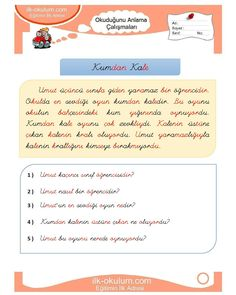 Turkish Lessons, Learn Turkish, Primary School, Classroom, Learning, Turkish Language, Trier, Class Room, Upper Elementary