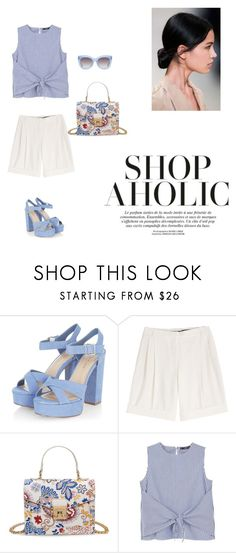 """""""07/26"""" by dorey on Polyvore featuring Alexander McQueen, MANGO and Alice + Olivia"""