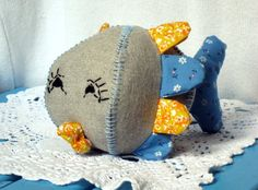 Sewing fish toy