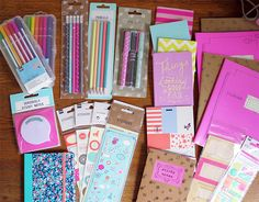 HEMA Stationery Haul - Let's talk beauty Stationary Store, Cute Stationary, Stationary Supplies, College Problems, School Suplies, Stabilo Boss, Kawaii Stationery, Back To School Supplies, Planner Supplies