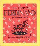 The Story of Ferdinand by munro leaf, http://www.amazon.com/dp/0590758179/ref=cm_sw_r_pi_dp_88aVpb00PQKB3