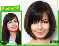 .Blog de Deusa: Cortes diferentes para cada tipo de rosto Escolha ...
