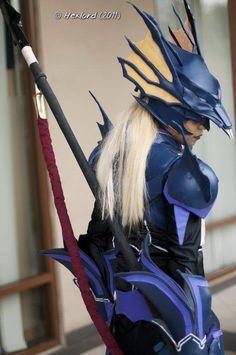 Tegrit: Kain Highwind from Final Fantasy 4 in Otaku House Cosplay Idol 2012