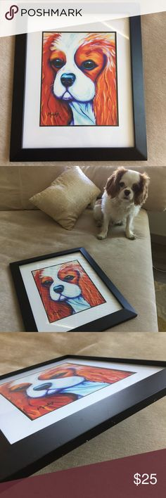 Cavalier King Charles AKC Painting Wall Decor :) Other