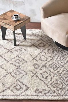Wool Carpet - Buy handwoven wool carpets online - The Rug Republic Wool Carpet, Rugs On Carpet, Carpets Online, Taupe Color, Diamond Pattern, Colored Diamonds, Contemporary Style, Wool Rug, Shag Rug