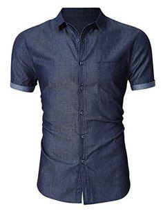MrWonder Men's Casual Slim Fit Button Down Shirt Short Sl... https://www.amazon.com/dp/B06XKN1HFQ/ref=cm_sw_r_pi_dp_x_kHh-yb62WVHTA