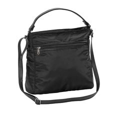 Everything Crossbody in Black for $58 - Head to the coffee shop with your tablet in tow! This bag is a great on-the-go solution. Wear as a satchel, crossbody bag or shoulder bag. Via @thirtyonegifts