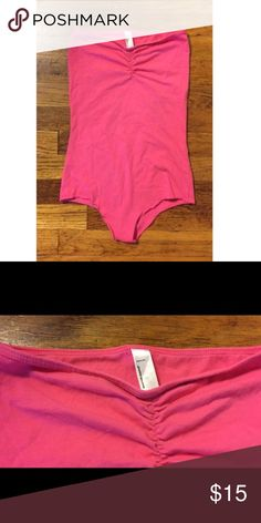 American Apparel bodysuit Cotton spandex bodysuit American Apparel Swim One Pieces