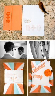 modern #weddinginvites