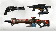 Destiny features the largest arsenal of Weapons in a Bungie game to date, coming in both a variety of categories and featuring unique customization options #destiny