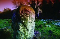 The Boa Island carved stones, graveyard, and enclosure are Scheduled Historic Monuments sited in the townland of Dreenan, in Fermanagh District Council area.