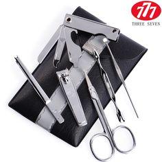 777 finger scissors set chrome ts-803 6 piece set finger nail clipper plier set | #TravelGroomingKit