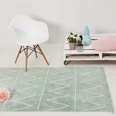 Minimalistische Kinderzimmer-Teppiche