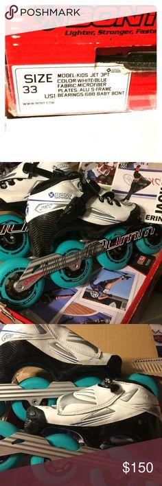 ceramic bearings Inline Speed Skates by Trurev  3 skate frame 110mm wheels.