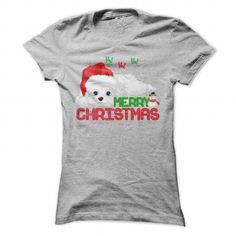 Christmas Havanese! - #shower gift #man gift. SAVE  => https://www.sunfrog.com/Pets/Christmas-Havanese-SportsGrey-Ladies.html?id=60505
