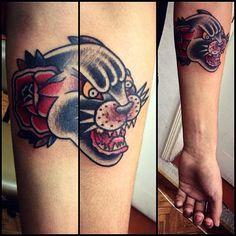 #tattoo #blackpanthertattoo