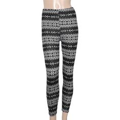 Allegra K Women Christmas Style Multi Patterns Elastic Waist Leggings Tights XS Allegra K. $9.14