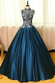 Blue satins lace applique round neck see-through A-line long prom dresses,ball gown dresses Blaue Satin Spitze Applique Rundhals durchsichtigen A-Linie lange Ballkleider, Ballkleid Kleider Ball Gowns Prom, Ball Gown Dresses, Homecoming Dresses, Dress Prom, Evening Dresses, Graduation Dresses, Party Dress, Lace Dress, Formal Evening Gowns