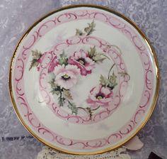 Porcelain Cake Plate Romantic Victorian Chic