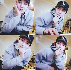 My little bae♡ #CHANYEOL #EXO