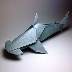 Origami Hammerhead Shark