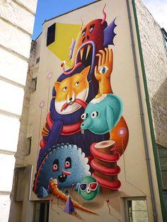 Dollhouse – Les créations Street Art et les illustrations d'Amandine Urruty