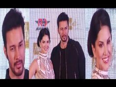 Sunny Leone & Rajneesh Duggal at BEiiMAAN LOVE trailer & music launch.