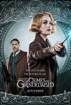 Dan Fogler and Alison Sudol in Fantastic Beasts: The Crimes of Grindelwald Mundo Harry Potter, Harry Potter Fandom, Harry Potter World, Alison Sudol, The Beast, Fantastic Beasts Movie, Fantastic Beasts And Where, Hogwarts, Jude Law