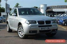 Fantastic Condition 2007 BMW X3 2.0D M SPORT AUTO SILVER #bmw #x320dmsportauto #forsale #unitedkingdom