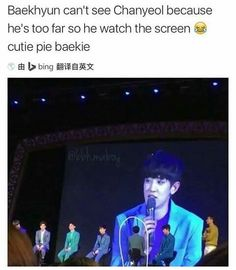 Baekyeol couple being obvious