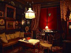 18 strafford terrace, london William Morris Wallpaper, Morris Wallpapers, Victorian Homes, Victorian Decor, Victorian Era, British Decor, 1960s House, Palace Interior, English Interior