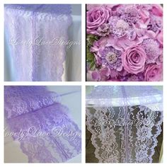 WEDDING DECOR /Lavender Lace Table Runner, Wedding Table Runner, 8in Wide, Lavender/ Lace Table Overlay/ Summer finds/Etsy trends by LovelyLaceDesigns on Etsy