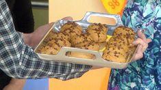 Skip the unhealthy fats! Super easy pumpkin chocolate chip cookies