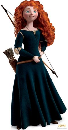 Princess Merida is the protagonist of Disney/Pixar's 2012 animated feature film, Brave. She is a Scottish princess and the daughter of Queen Eleanor and King Fergus. Merida is the eleventh official Disney Princess and the first to originate from Pixar. Princesa Merida Disney, Disney Princess Merida, Brave Princess, Disney Cosplay, Merida Cosplay, Disney Movies, Disney Pixar, Disney Characters, Walt Disney