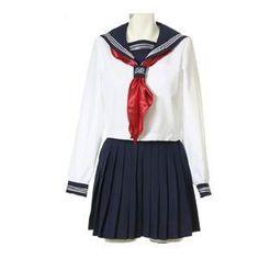 萌えセーラー長袖 costume242 コスプレ コスチューム衣装 メイド AKBアキバ 女子高生 セーラー服【楽天市場】