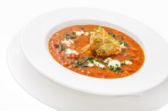 Lentil soup - with roasted salmon and a hint of aromatic coriander