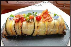 Terrine aux légumes d'été à la semoule épicée et Mozzarella