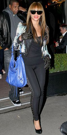 Look of the Day - January 24, 2010 - Beyonce from #InStyle