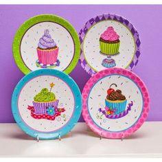 Sweet Escape Dessert Plates