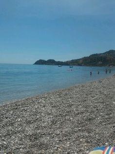 Sea in Taormina -photo by me-